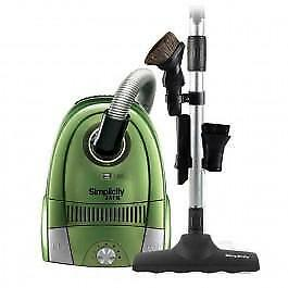 Jack Compact Size Canister 10 Amp Floor It Brush Hepa Filtration 18.5' Cord Electric Green 2 Year Warranty