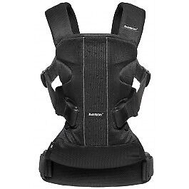Baby Bjorn One Air - Black Mesh Carrier - EUC
