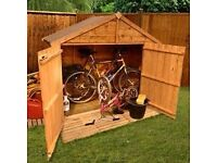 New garden shed for sale BillyOh 4x7 ft rustic finish.