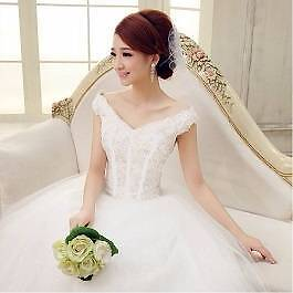 Many styles on sale-White Glittering deb wedding dress,cap sleeve Yarraville Maribyrnong Area Preview