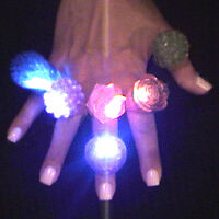Blinking Rings, Soft Assorted Styles