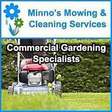 MINNO'S MOWING & CLEANING SERVICES Campbelltown Campbelltown Area Preview