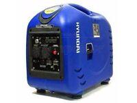 Hyundai HY3000SEi Lightweight 2.8kW/3.5kVA Portable Petrol Inverter Generator 230V~50Hz