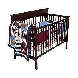 Football Crib Bedding Ebay
