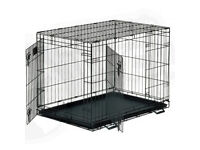 Small and medium dog cage / crate - puppy cat vet carrier home rabbit