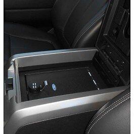 2015-2020  F-150 OEM Genuine Ford Security Vault Gun Safe w/ FLOWTHRU CONSOLE