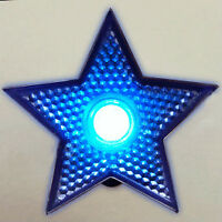 LED Blinking Blue Star Clip