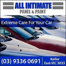 ALL INTIMATE PANEL AND PAINT Keilor East Moonee Valley Preview