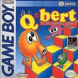 Qbert for Game Boy (Nintendo Game Boy, 1992)