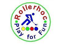 Rollerhoc (The easy play hockey game on wheels.)