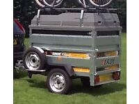 Erde 153 Trailer, Extended Sides, ABS Lid, Roof Bars, Vango Airbeam Tent and Awning plus lots more.