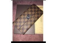 Louis Vuitton damier canvas (checked) purse