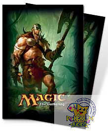 80-Ultra-Pro-Deck-Protector-Sleeves-M12-Garruk-Primal-Hunter-card-sleeves-Mtg