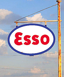Wanted anything Esso branded