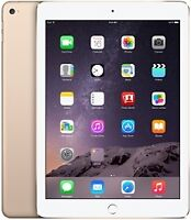 Apple iPad Air 2 ,16 GB , Couleur OR , neuf avec facture $ 495