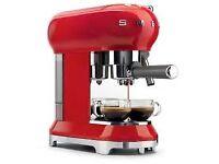 Smeg Retro Style Coffee Machine - BUY NOW PAY LATER!!