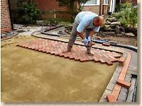LANDSCAPE PAVING DRIVEWAY GARDEN SERVICES PATIOS FENCING DECKING ARTIFICIAL GRASS INDIAN STONE