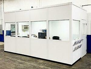 PORTABLE OFFICES - CLEAN ROOMS - SHIPPING OFFICES - MODULAR BUILDING SYSTEMS