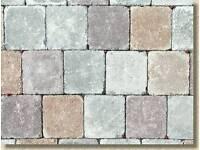 Tumbled brindle blocks