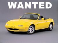 WANTED - Mk1 Mx5