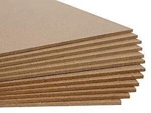 Masonite hardboard 1/8x4x8