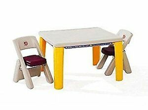 Kids Indoor/Outdoor Table With Foldable Chairs/Legs Peterborough Peterborough Area image 1