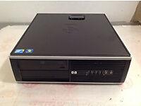 Custom HP Compaq 6000 core 2 quad q6600 2.4 GHz Pc