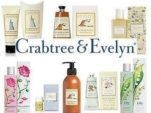 Brand New Crabtree and Evelyn products On Sale