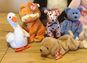 Collectibles: NEW Beanie Babies ($7 each) OBO