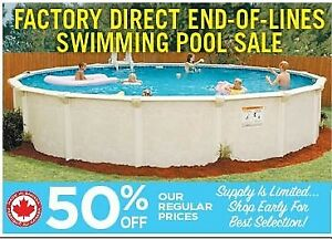 SWIMMING POOL END-OF-SEASON CLEARANCE SALE