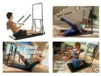 Pilates Frame - Padded Mat Bed with Spring Attachments - Like New