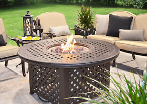 Gas Firepit table