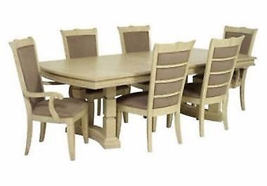 Furniture Village Brunswick Dining Table 8 Chairs