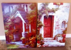 2 canvas pictures Cornwall Ontario image 1