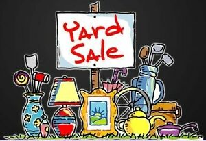 Best Yard Sale Ever - Rain or Shine