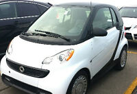 2015 Smart Fortwo Black Coupe (2 door)