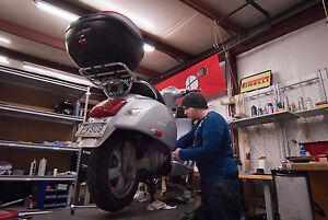 Scooter shop  - Service and repair