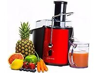 Andrew James power juicer + attachments.