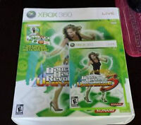 XBOX 360 DANCE MAT AND GAME