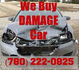 Damaged Car Buyer - Salvage Car Removal - Free Tow (780) 2220825