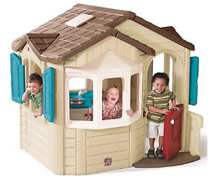Large Outdoor  realistic PlayHouse, Step2