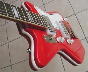 New-Res-O-Glas-Fiberglass-Jetsons-WLT-Guitar-Body-Vintage-Supro-Airline-Vibe