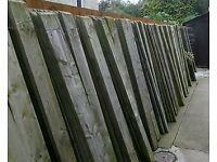220 × 6ft fence panels £1 each