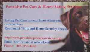 Pawsitive Pet Care and House Sitting Services