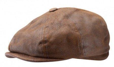 4ec99d9e952ae Stetson Leather Cap  Hats