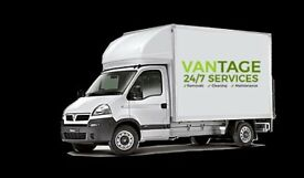 Peterborough Man and Van | Low Cost Removal Company | House & Waste Removals | Vantage 24/7 Services