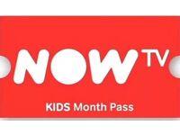 Now tv 3 months kids pass