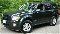 2008 FORD ESCAPE XLT  FULLY LOADED  3 TO CHOOSE FROM