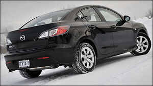 2010 Manuel transmission black Mazda3 Kingston Kingston Area image 1