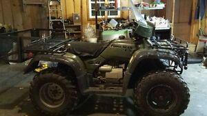 Honda 450 ES 4 wheel ATV
